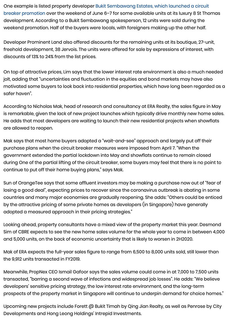 Leedon Green - New home sales see strong rebound in May, up 75.5% Part 2