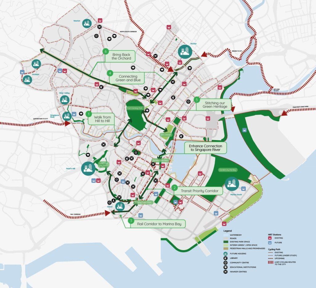 Central Region URA Master Plan
