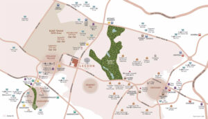 Leedon Green Location Map